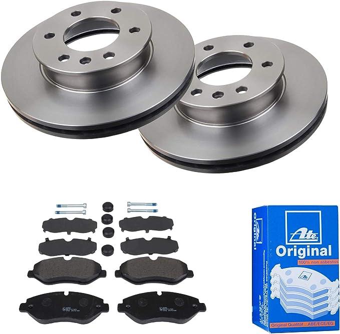 Bremsen Set Inkl Bremsscheiben Bremsbelagsatz Vorderachse Von Ate 1420 22268 U A Bremsanlage Auto