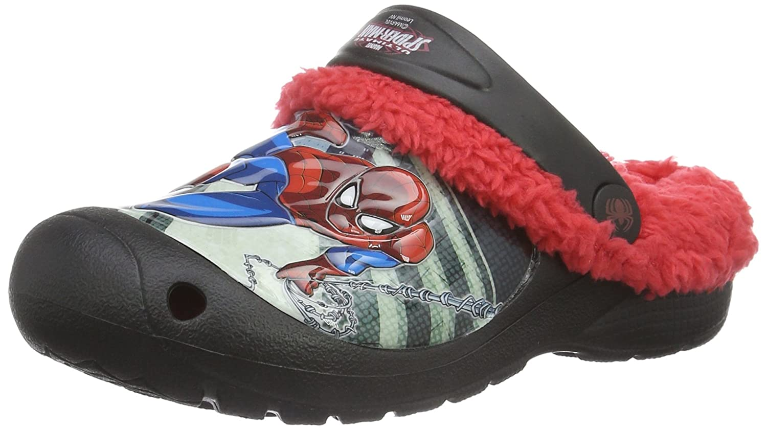 Spiderman Boys Kids Clog Sandals and Mules Zuecos Niños