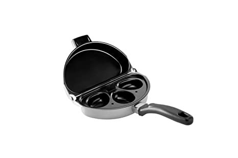 Amazon Nordic Ware Divided Skillet Omelet Pan Poacher Nordic