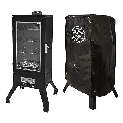 "Smoke Hollow 36"" Digital Electric Portable Backyard BBQ Smoker  w/Window ... - Amazon.com : Smoke Hollow 36"