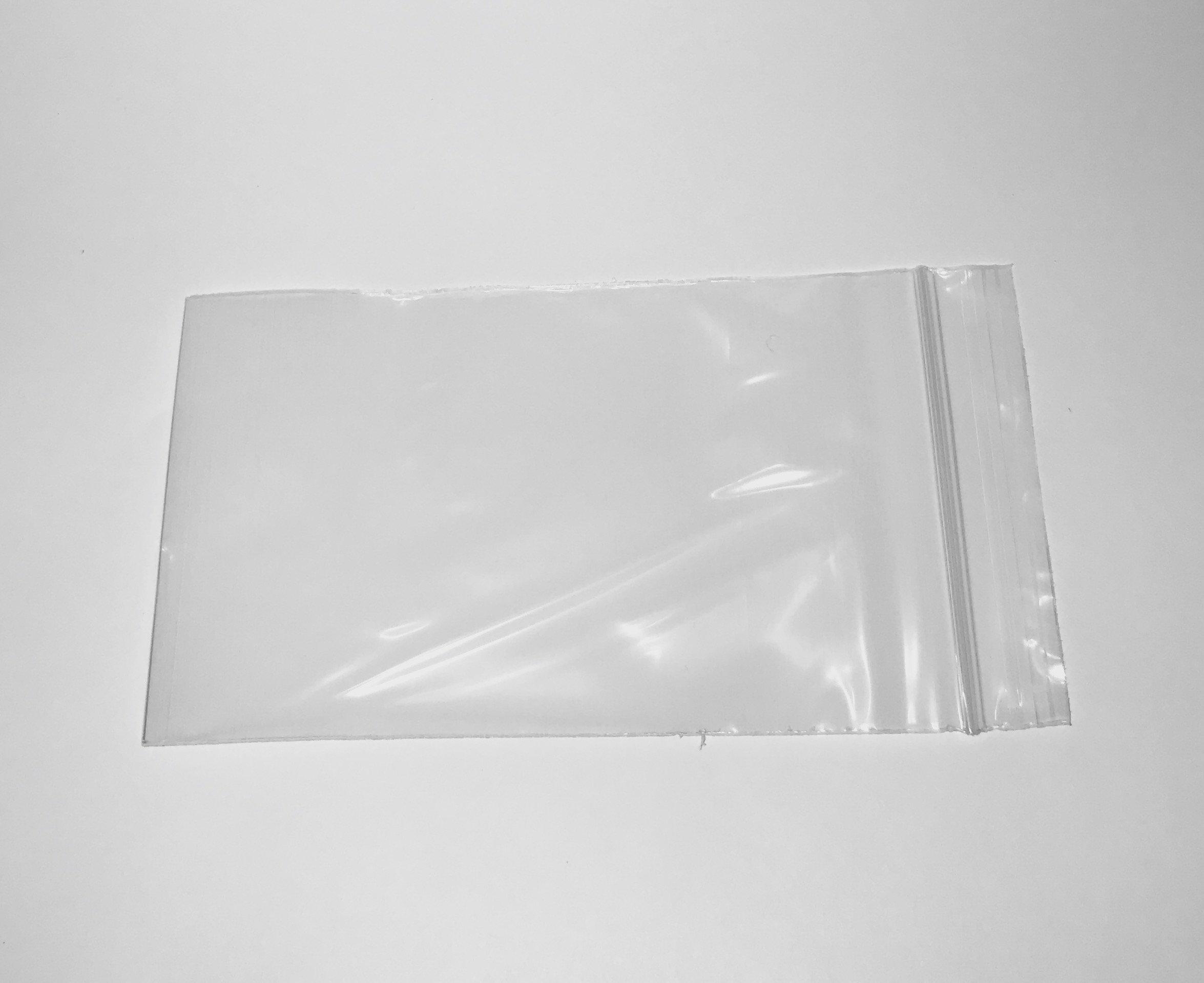 6'' x 9'' Reclosable Clear Zip Lock Bag 1000 Per Case