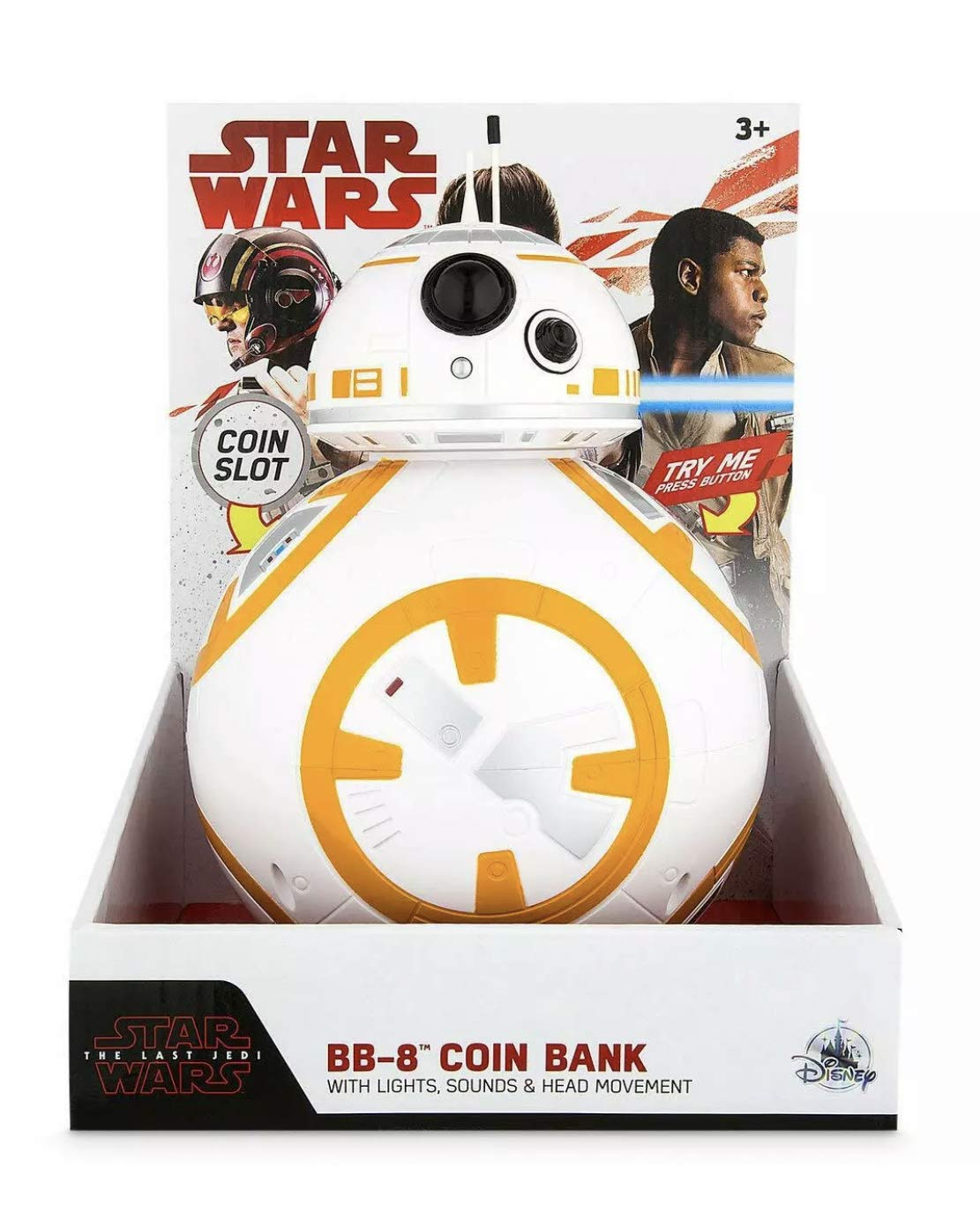 Disney Star Wars The Last Jedi BB-8 Light-Up Coin Bank by Disney (Image #1)
