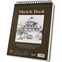 9 x 12 inches Sketch Book, Top Spiral Bound Sketch Pad, 1 Pack 100-Sheets (68lb/100gsm), Acid Free Art Sketchbook…