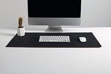 Tapis de bureau en cuir de liège de qualité supérieure fait main