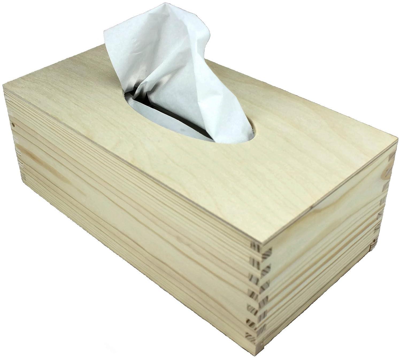 Scatola per fazzoletti, by NET4CLIENT ® buona qualità rettangolare Tissue box cover Tissue box Holder per salviette