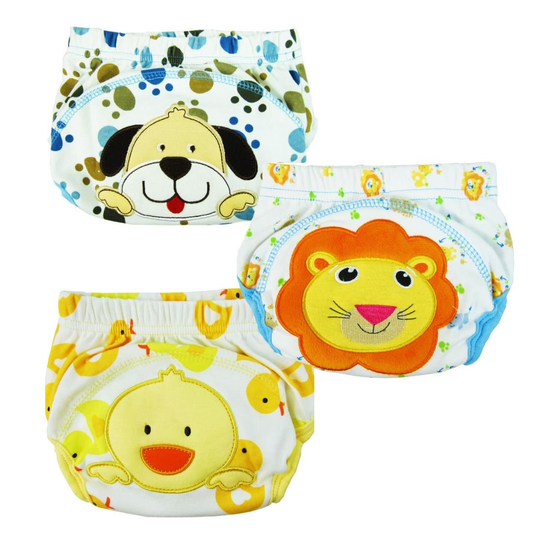 3pc Potty Training Pants [Size 100] [Girls] Global Trade