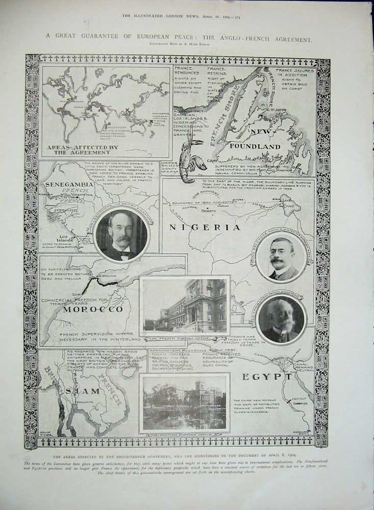 Amazon Old Print Print 1904 Submarine Signals Munday Ship Anglo