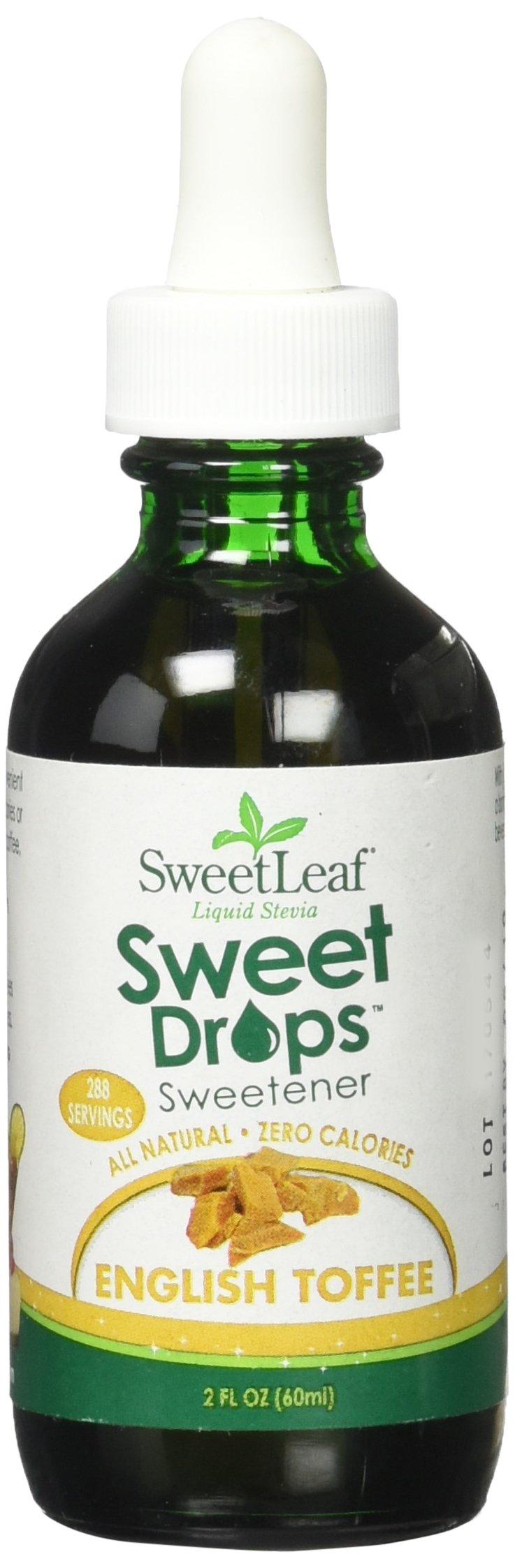Sweet Leaf LIq Stevia, Clear, Toffee, 2 Fl Oz (5 pack)