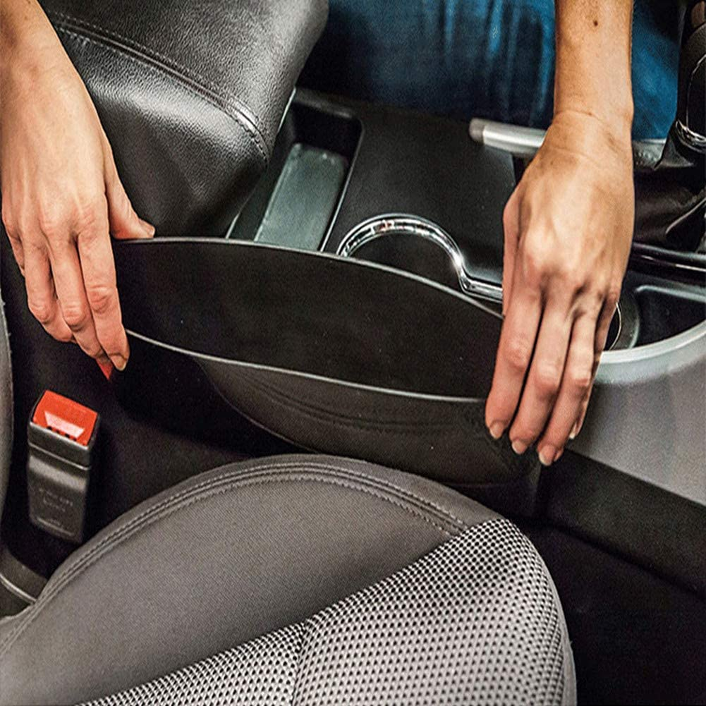 HEELPPO Accessori per Auto Portaoggetti Auto Accessori Auto Interno Porta Oggetti per Auto Organizer Auto Parte Anteriore Dellorganizzatore del Seggiolino Auto Black,1pc