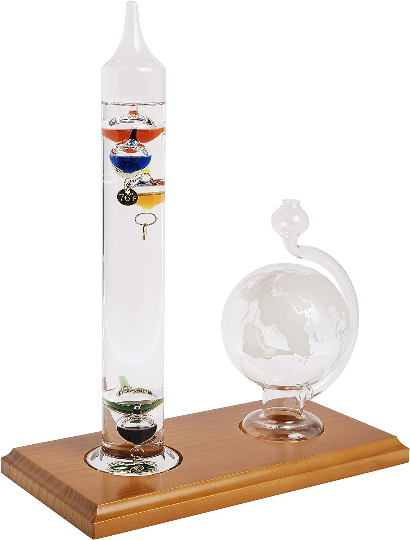 AcuRite Glass Globe Barometer