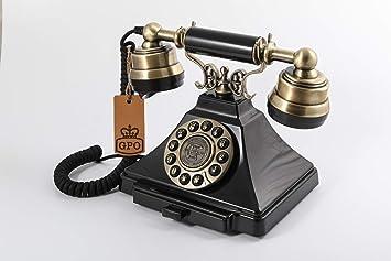 GPO Duke Teléfono de Botones Vintage: Amazon.es: Electrónica