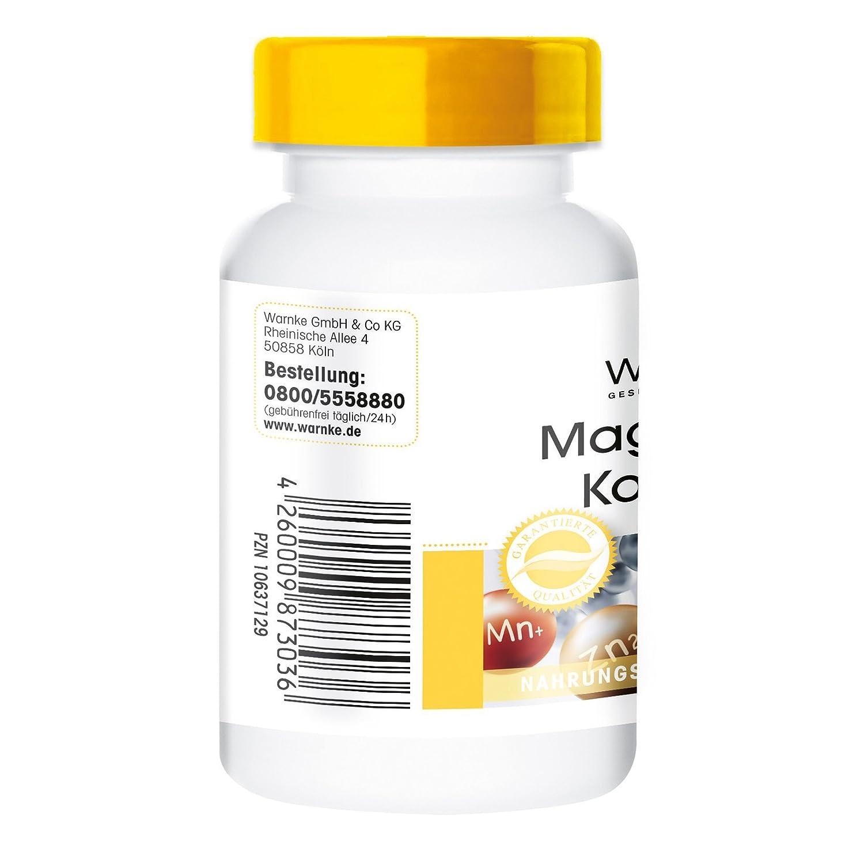 Magnesio Komplex - con óxido de magnesio- carbonato - sulfato - biodisponible - paqueta grande 250 pastillas - 200g: Amazon.es: Salud y cuidado personal