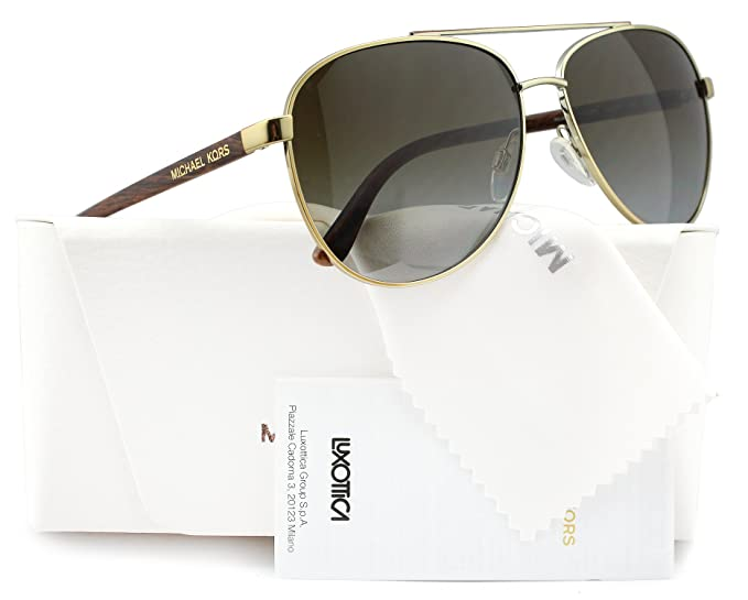 cc5b23bf789 Image Unavailable. Image not available for. Colour  Michael Kors MK5007 Hvar  Polarized Sunglasses ...