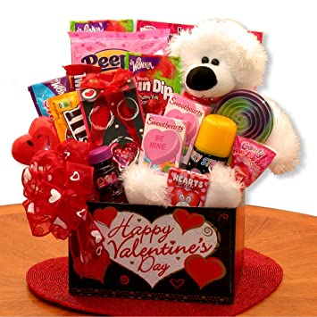 Amazon Com You Re Beary Huggable Kids Valentine Gift Box Gourmet