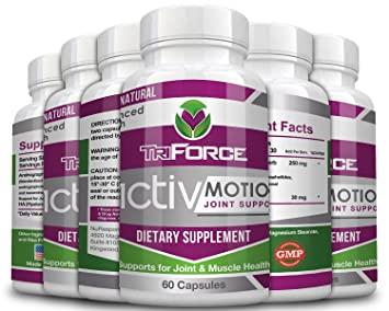 ActivMotion Advanced Joint Support Formula - (60 Capsules Each Bottle) -  Proven to Support Improved