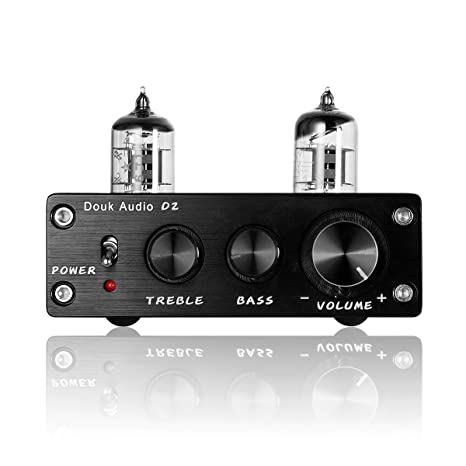 nobsound HiFi 6j1 vacío Tubo preamplificador estéreo preamplificador Digital Agudos & Bass Tone Control (Negro): Amazon.es: Electrónica