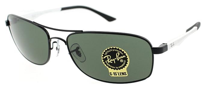 Amazon.com: Ray-Ban RB3484 – Gafas de sol, Color negro ...