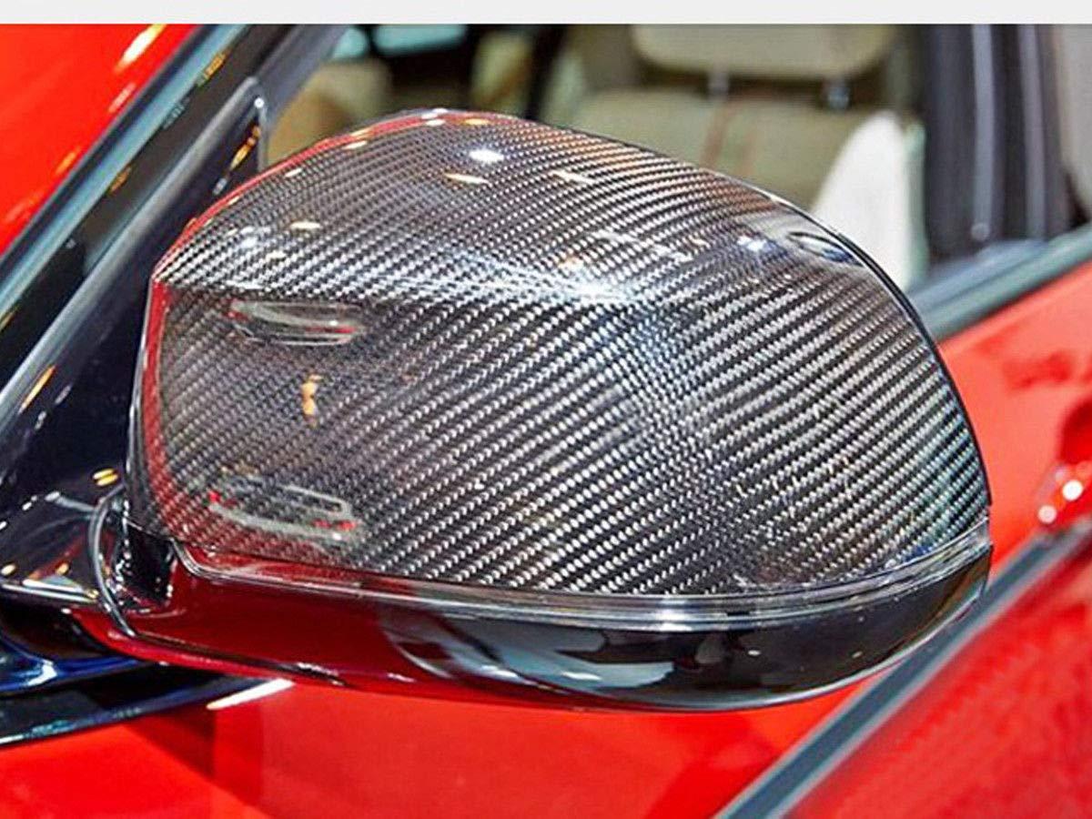 oll Coque de protection miroir en carbone pour X3 X4 X5 X6 F15 F16 F25 F26