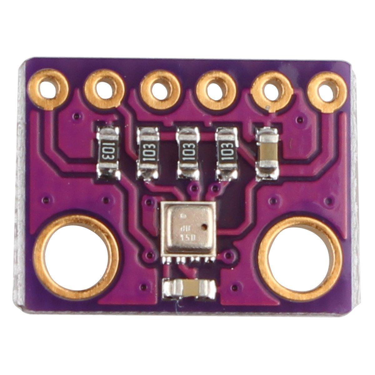 Modulo GY‑BMP280‑3.3 digitale I2 C per Arduino con sensore di pressione barometrica umidit/à e temperatura BME280 colore viola porpora porpora 1 Hosaire