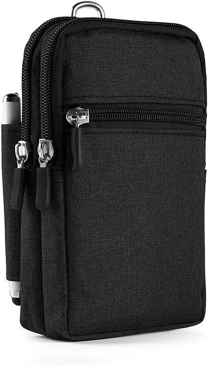 """Genuine Leather Wasit Bag Hip 5.5//5.7/""""  Mobile Phone Case Men Belt Fanny Pack"""