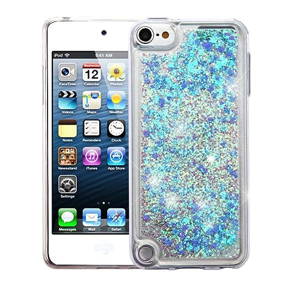 half off 34791 d6e6a Amazon.com: iPod Touch 5th Gen/6th Gen Case, Mybat Quicksand Glitter ...