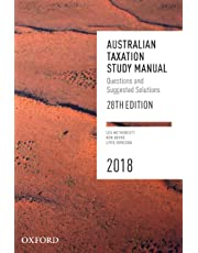 Australian Taxation Study Manual 28e 2018: Questions and Suggested Solutions