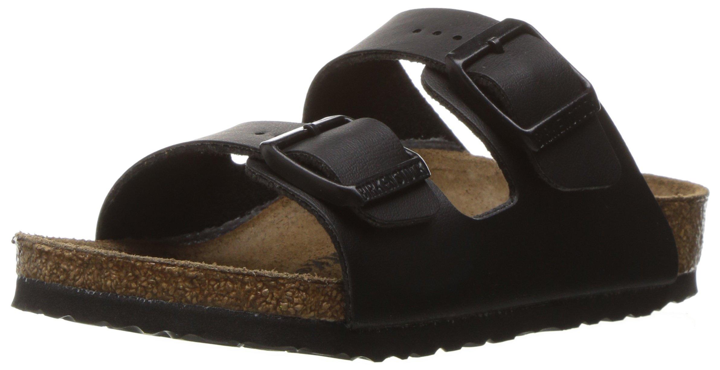 Birkenstock Arizona Birko-Flo Black Sandals - 32 M EU / 1-1.5 M US Little Kid