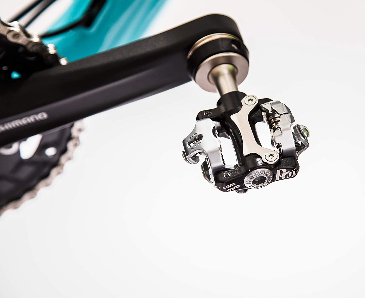 SPD Pedals (Pop-Off) - Pair, with 2nd-Generation Quick-Release Latch