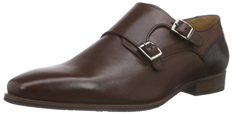 Nebulus Zapatos Monkstrap Smart Marrón EU 43 2Fgu2