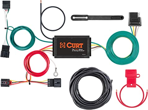 Amazon.com: CURT 56380 Vehicle-Side Custom 4-Pin Trailer Wiring Harness for  Select Volkswagen Beetle: AutomotiveAmazon.com
