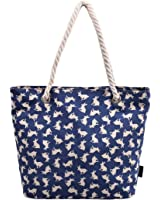 DGY Printed Large Canvas Tote Purses Beach Bags and Totes for Women Multicolor Shoulder Bag 252