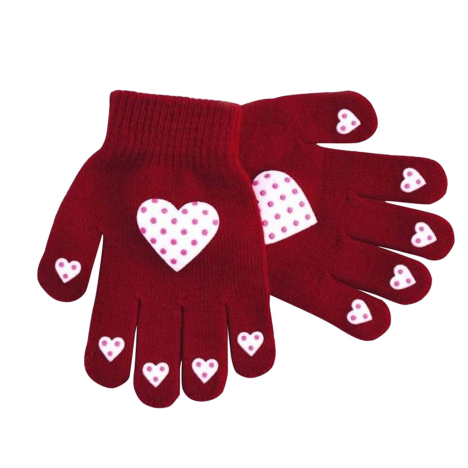 Childrens Girls Patterned Winter Magic Gloves UTGL300_8