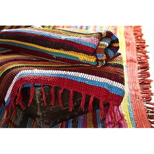 Rag Rug Prices: Rag Rugs: Amazon.co.uk