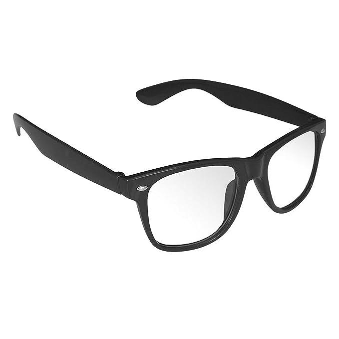 Kostenloser Versand Tropfenverschiffen Sonderverkäufe Oramics Hornbrille ohne sowie mit Stäke für Frauen und Männer Nerdbrille  Retro Brille