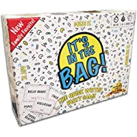 It's In The Bag! - NEWEST Game for Family! For Adults! For Parties! Laugh out loud in this game of teamwork. Describe, Guess & Charades! Act FAST in this popular quick-witted card game! 4-20 players!