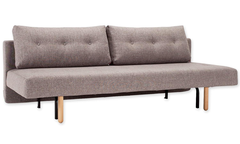 La innovación sofá Cama con Patas de Madera de Cuadros ...