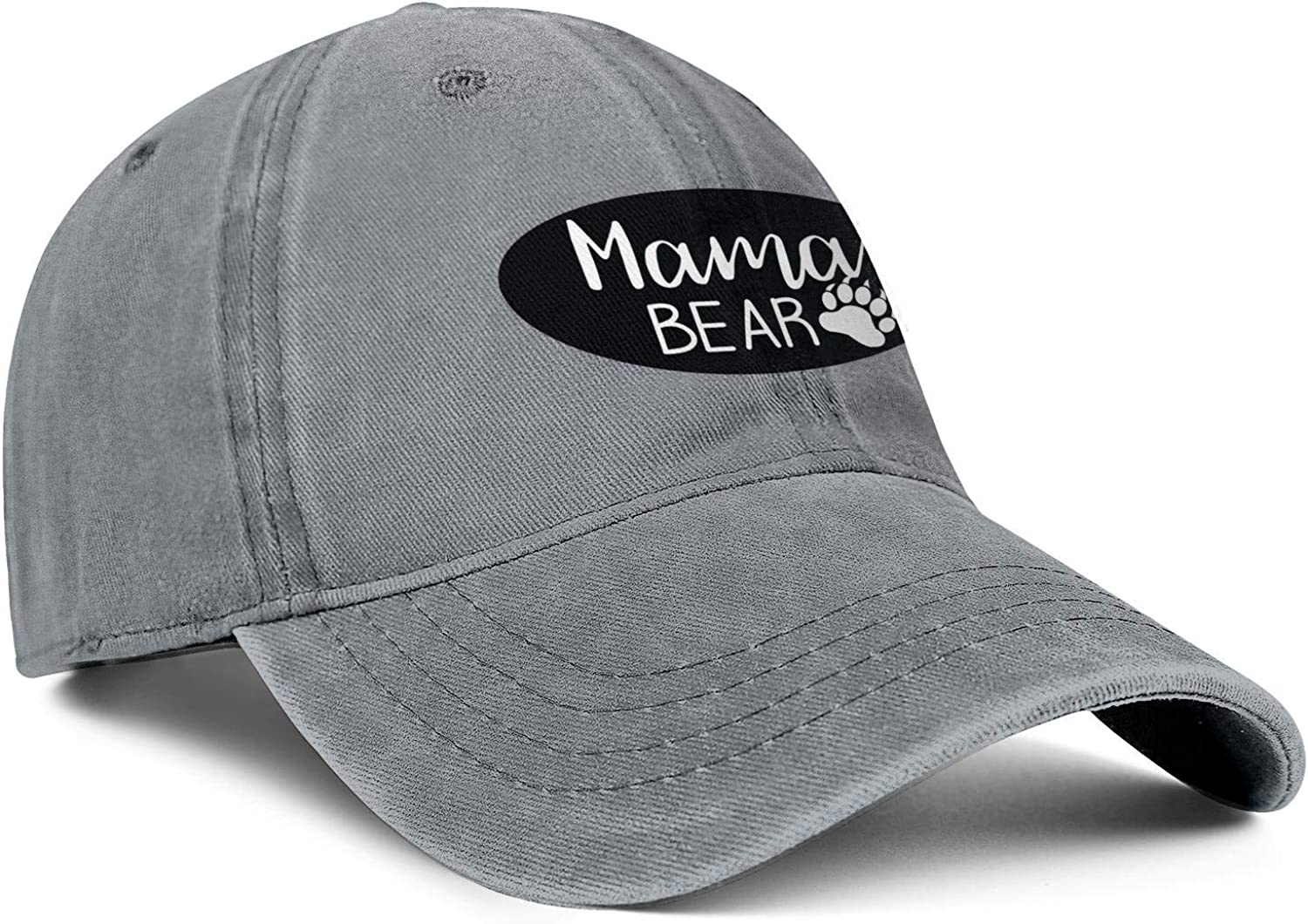 Mama Bear Claws Unisex Baseball Cap Fitted Sport Hats Adjustable Trucker Caps Dad-Hat