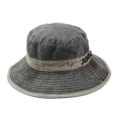 96824966 Bucket Hat Men's Bob Summer Outdoor Fishing Wide Brim Hat UV Protection Cap  Men Hiking Sombrero
