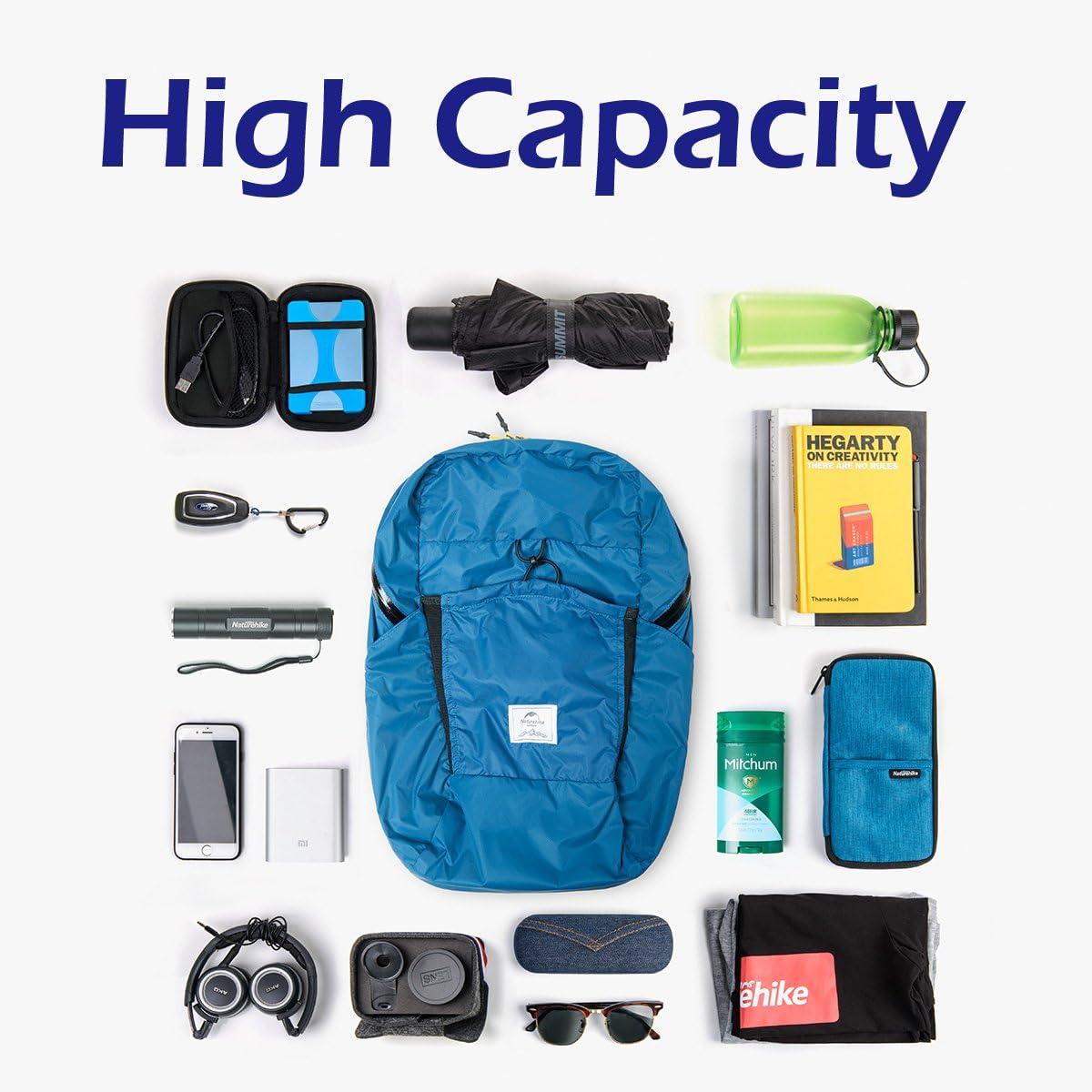 TRIWONDER Sac /à Dos de Randonn/ée 18//22 25L Sac Sport Sac /à Dos Pliable Sac de Voyage Sac de Trekking L/éger Imperm/éable pour Homme Femme Camping