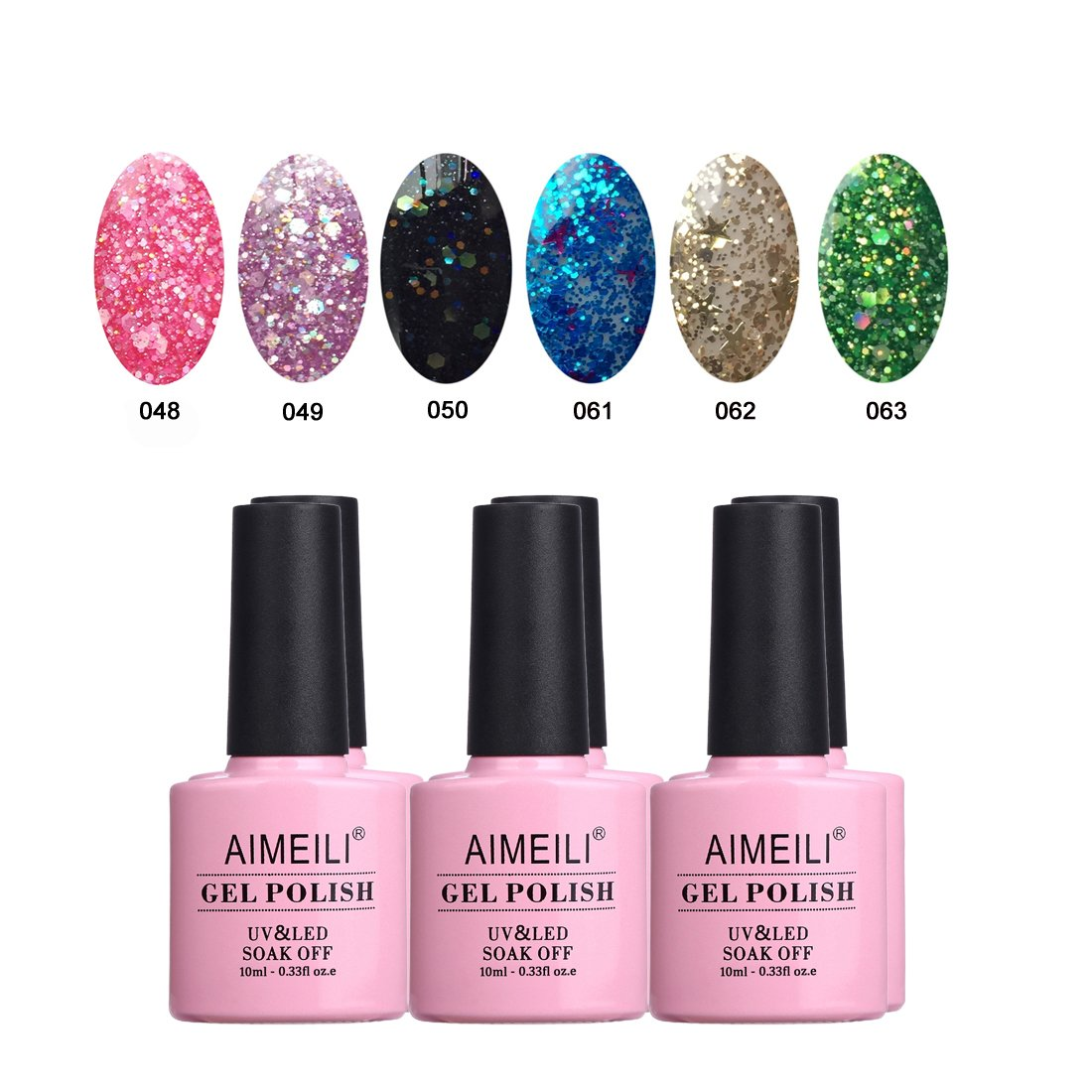 Gelaxy Gel Nail Polish: Amazon.com : AIMEILI Galaxy Paranoid Collection Soak Off