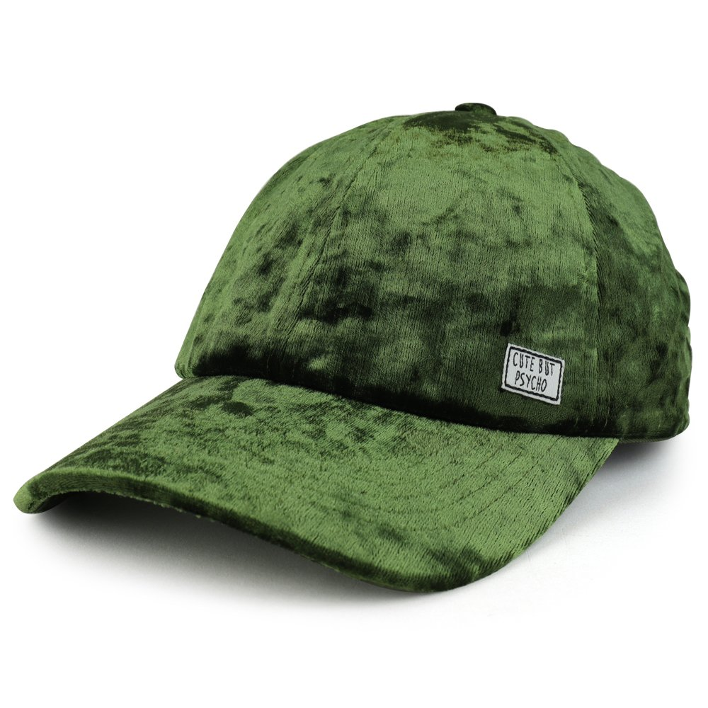 Trendy Apparel Shop HAT レディース B076BV7PXS  オリーブ One Size