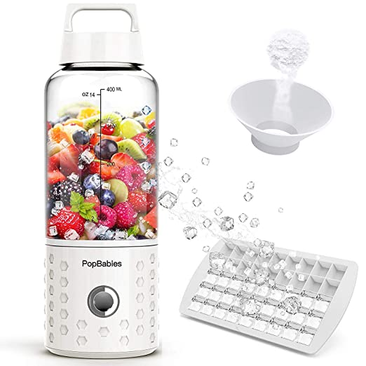 Personal Blender, popbabies Travel Blender para Single, USB ...