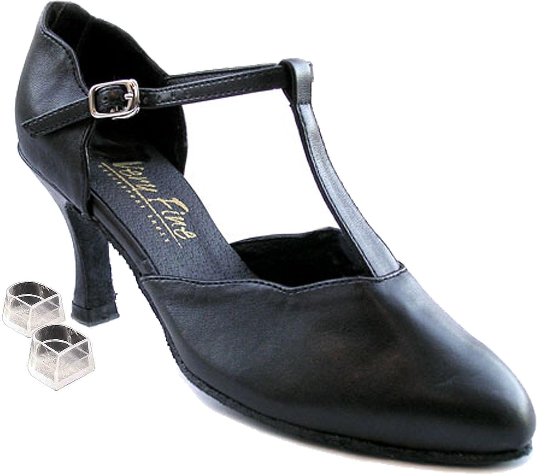 Ladies Women Ballroom Dance Shoes Plastic Heel Protectors