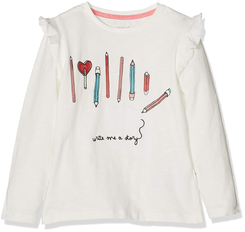 Name It Girl's Nmfnanaja Ls Top Long Sleeve 13157132