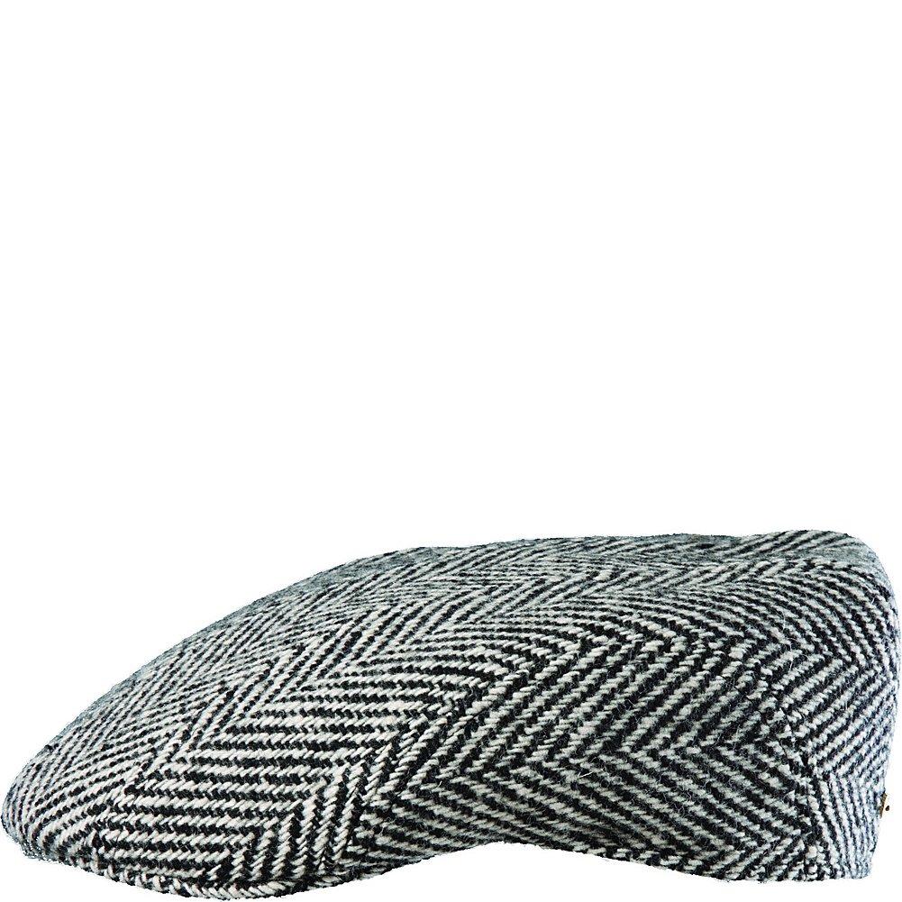 Dorfman Pacific STW88-BLK-WHT3 Large Wool Blend Modesto Black-White