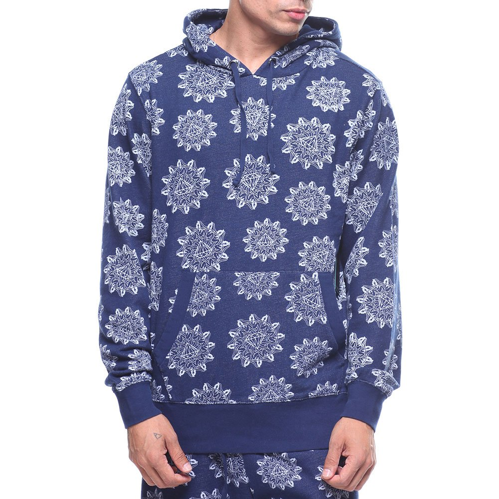 Diamond Supply Co. Men's Pinup Indigo Hoodie Blau