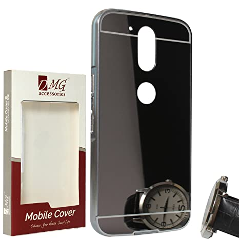 meet 23b21 962d4 easoindia Front Back Case for Moto G4 Plus Black Best Price in India ...