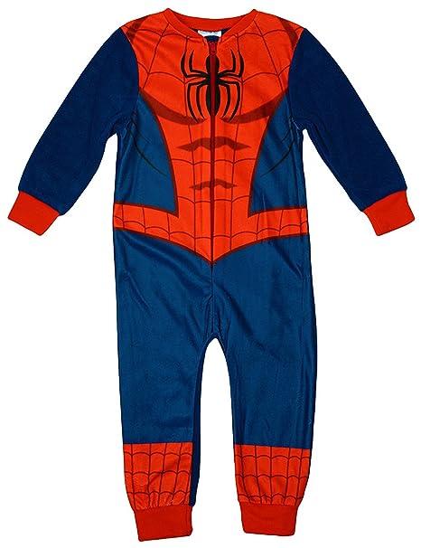 Age 3//4yrs Boys MARVEL SPIDERMAN COSTUME onesie 3//4yrs
