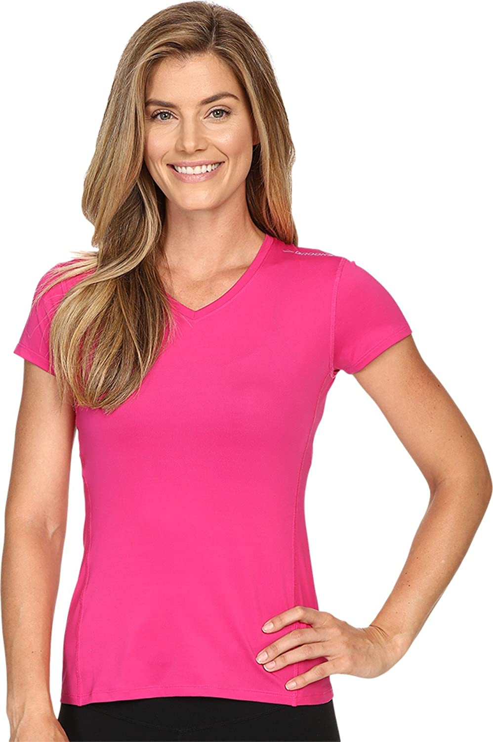 Brooks Steady - Camiseta de Running para Mujer, Mujer, Color