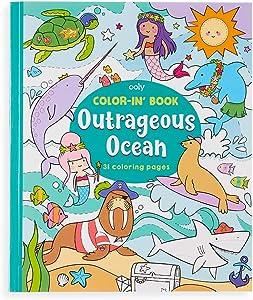 Colorin Book - Outrageous Ocean
